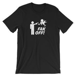Short-Sleeve Unisex FAKOFF T-Shirt