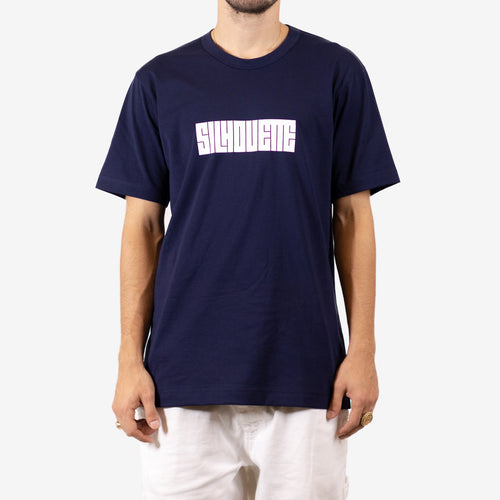 Silhouette Classic Logo T-Shirt Navy