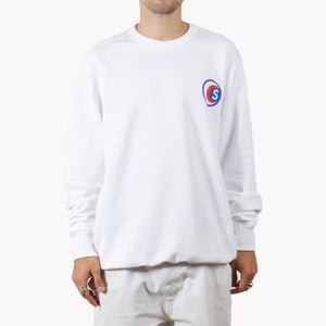 Silhouette x Cartel Badge Sweatshirt White