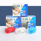 2 In 1 Anti Snoring & Air Purifier Relieve Snoring Nose Breathing Apparatus - Health & Beauty - Proshot Bazaar