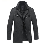 Men's Wool Coat - Men's Clothing - Proshot Bazaar