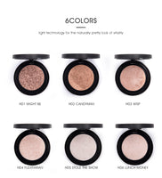 MYS Professional Face Makeup 6 Color Bronzer And Highlighter - Health & Beauty - Proshot Bazaar