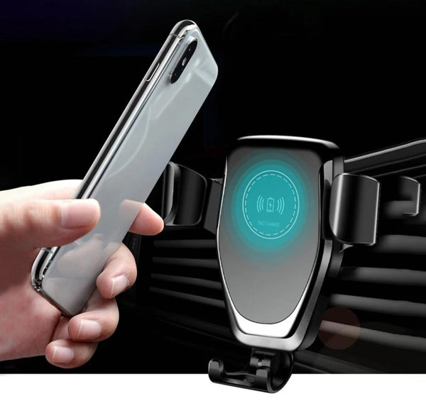 Automatic Gravity Qi Wireless Car Charger Mount - Car - Proshot Bazaar
