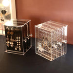 Transparent Jewelry Storage Box - Earrings - Proshot Bazaar