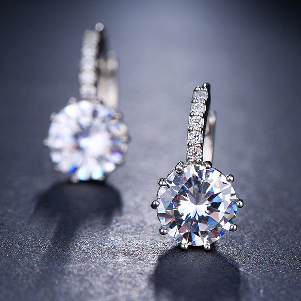 Fashion AAA CZ Element Stud Earrings - Earrings - Proshot Bazaar