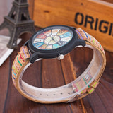 VANSVAR Casual Leather Quartz Watch - Watches - Proshot Bazaar