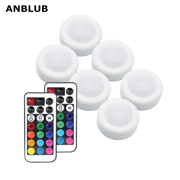 Wireless RGB LED Puck Light with Remote Control - Electronics - Proshot Bazaar