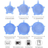 Reusable Silicone Cover Stretch Lids - Home & Kitchen - Proshot Bazaar