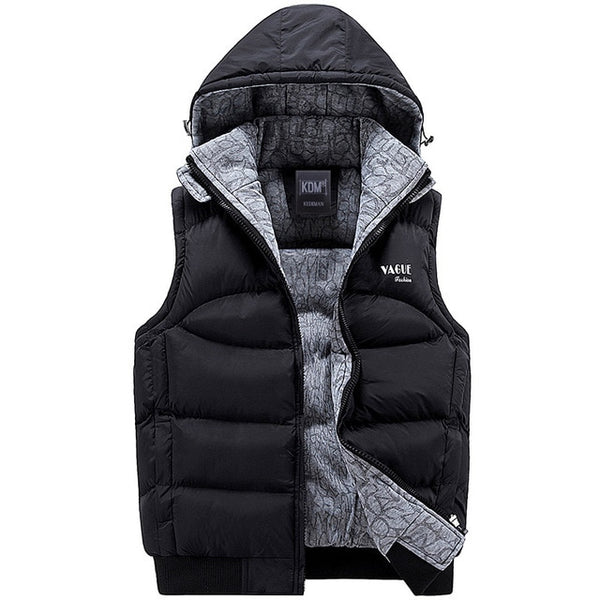 Fashion Sleeveless 100% Cotton Men's Jacket - Men's Clothing - Proshot Bazaar