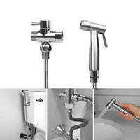 Stainless Steel Bidet Sprayer Kit - Home - Proshot Bazaar