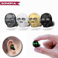 SONGFUL Waterproof Skull Bluetooth Earphone - Electronics - Proshot Bazaar
