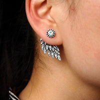Josbores Gothic Cool Angel Wings Alloy Stud Earrings - Earrings - Proshot Bazaar
