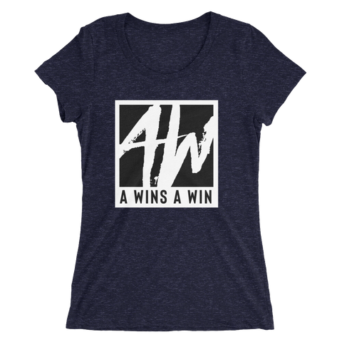 A Wins A Win Logo Women's Shirt