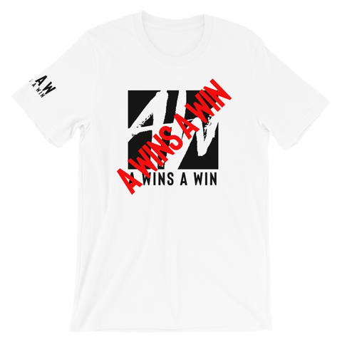 "A Wins A Win Logo ""Cross Out"" Shirt"
