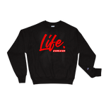 "AWAW ""Life."" x Champion Sweater"