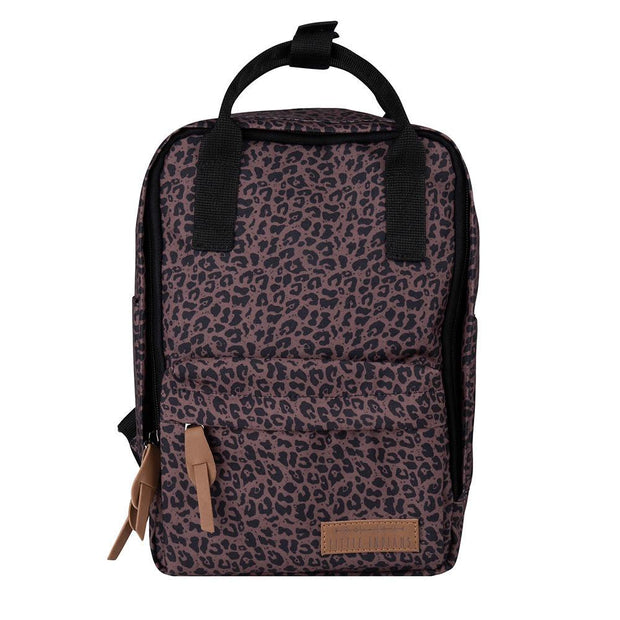 Backpack Leopard Brown