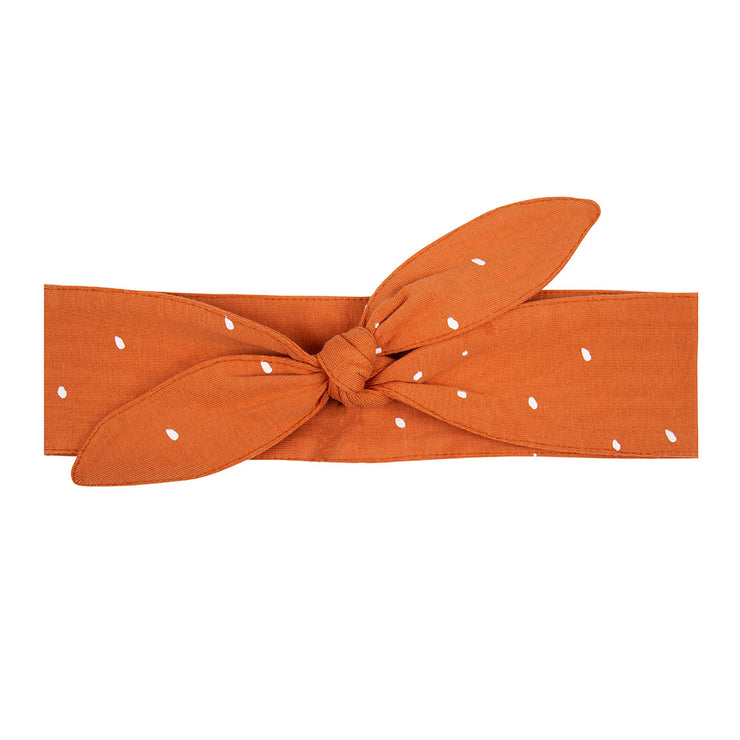 Headband Dots Bombay Brown