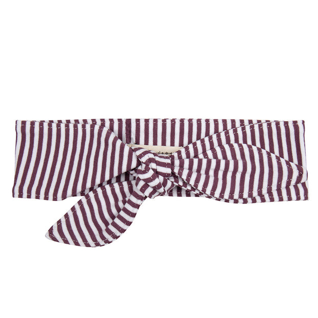 Headband Purple Stripe