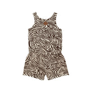 Jumpsuit Short Zebra