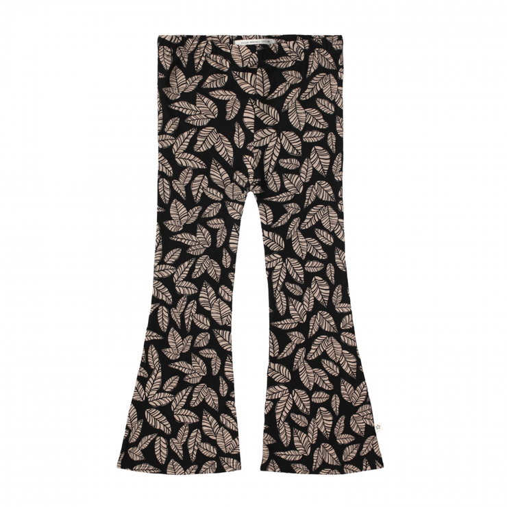 Leaves Flared Legging