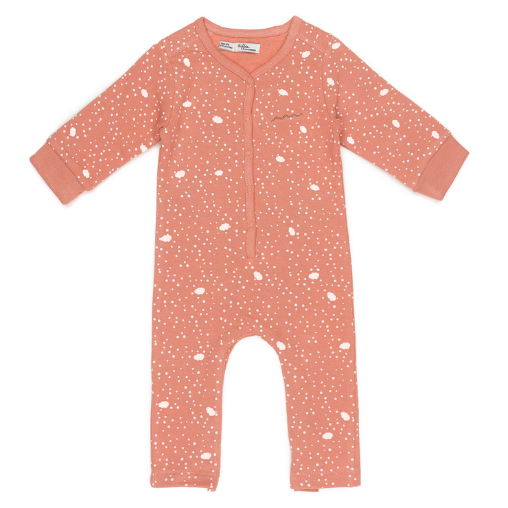 Jumpsuit Pink Dot