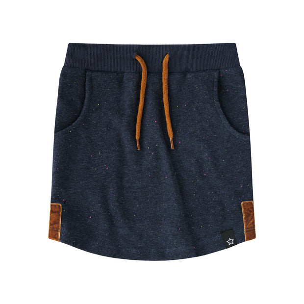 Jogging Skirt Multi Fleck Blue