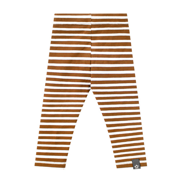 Legging Camel Stripes
