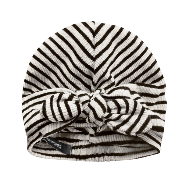 Beige Stripes Turban