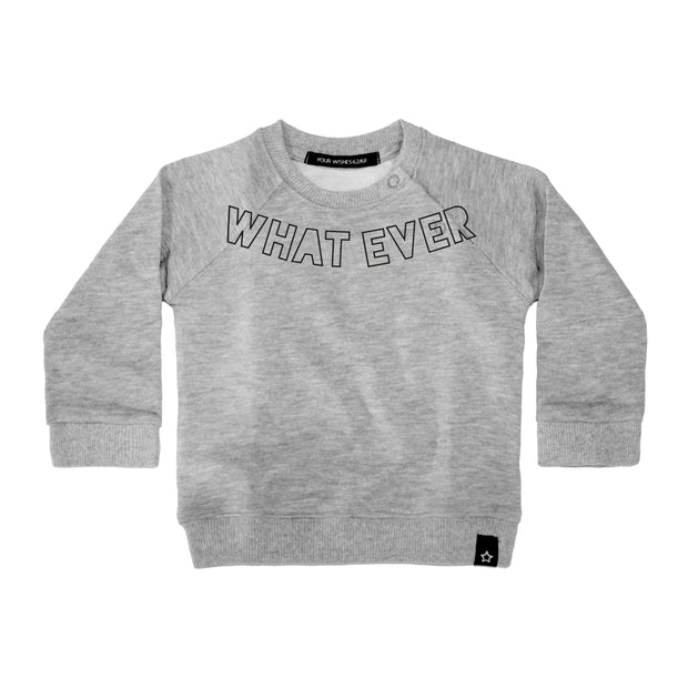 Sweater Whatever Grey