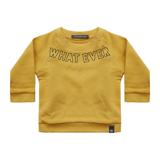 Sweater Whatever Ochre