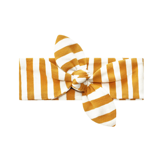 Ochre Stripes Headband