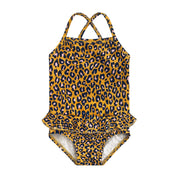 Leopard Ochre Swimsuit