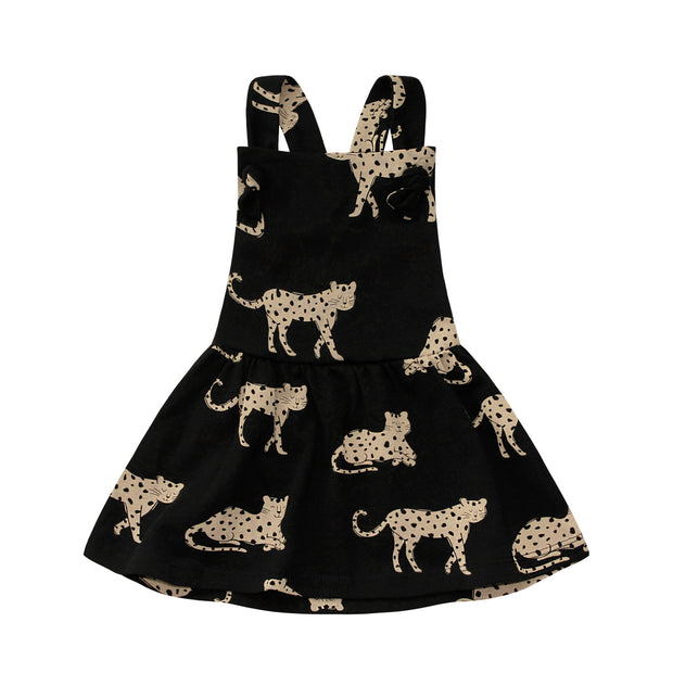 Dungaree Dress Wild Cheetahs