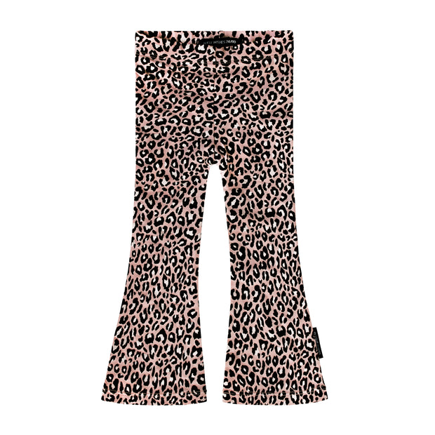 Flared Legging Pink Leopard