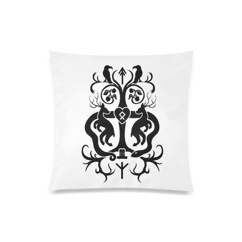 "Yggdrasil Throw Pillow Cover 20""x20"""
