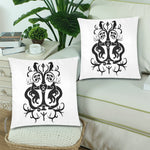 "Yggdrasil Tree of Life Throw Pillow Cover 18""x 18"" (Set of 2)"