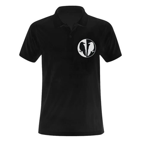 Huginn & Muninn Odin's Ravens Polo Shirt for Men