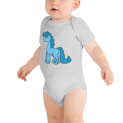 Sleipnir Odin's Horse Baby Heathen Onesie Shirt various light colors