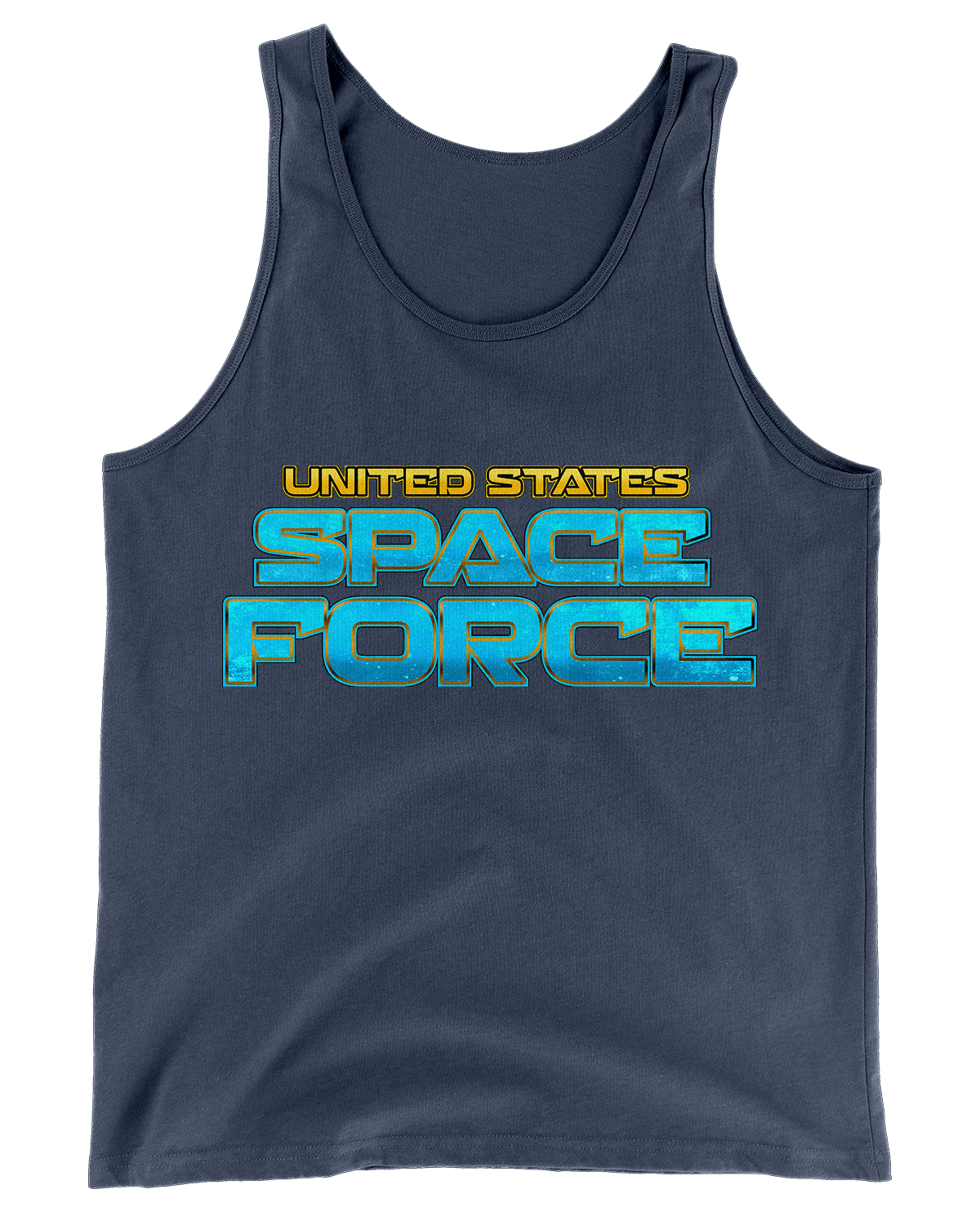 United States Space Force Tank (Front Print Only)
