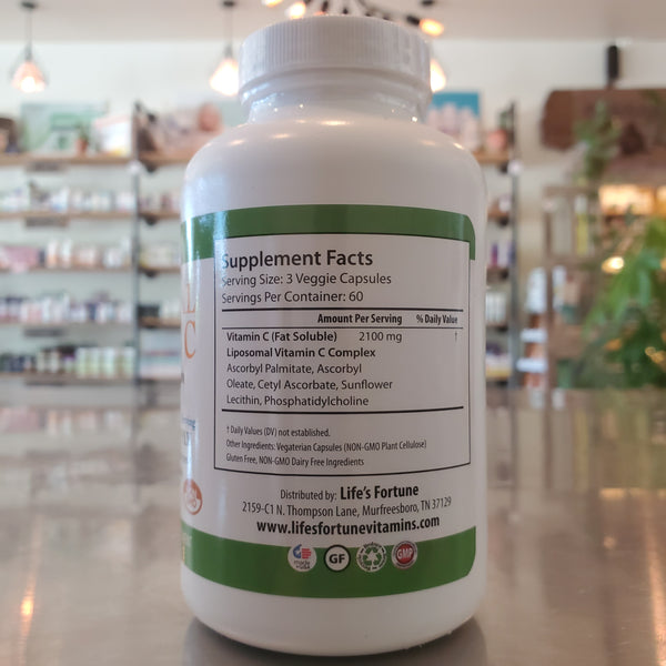 Liposomal Vitamin C - 180ct