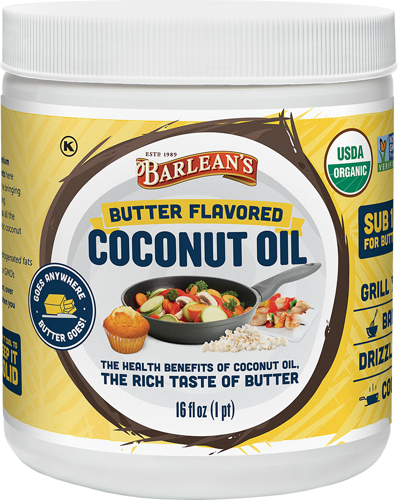 Organic Butter Flavored Coconut Oil - 16oz