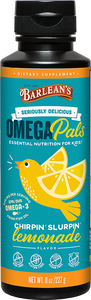 Omega Pals Chirpin' Slurpin' Lemonade Fish Oil