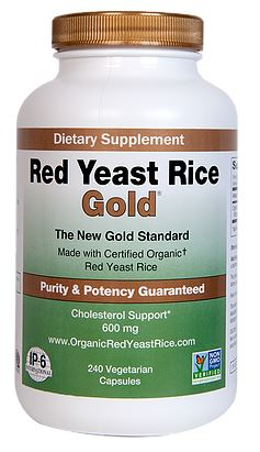 Red Yest Rice Gold - 120ct