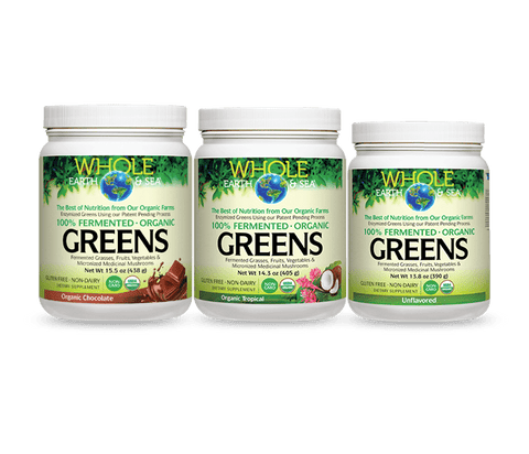 Whole Earth & Sea Fermented Organic Greens