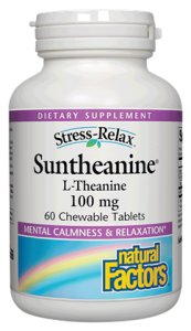 Stress-Relax® Suntheanine® L-Theanine - 60ct