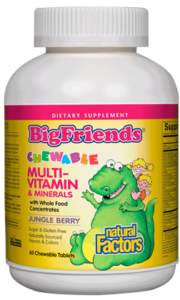Big Friends® Chewable Multivitamin & Minerals