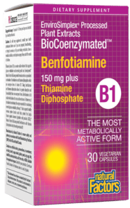 BioCoenzymated™ Benfotiamine (B1) - 30ct