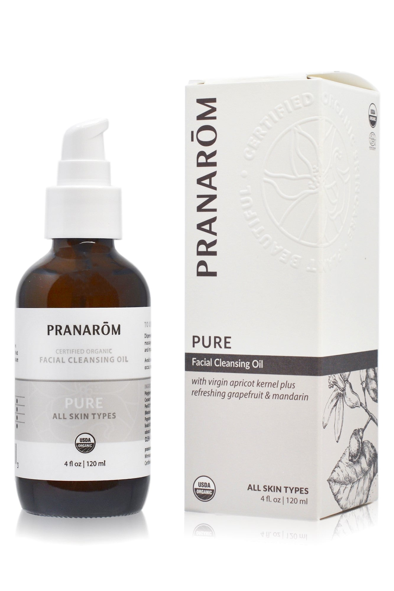 Pure Facial Cleansing Oil 4oz