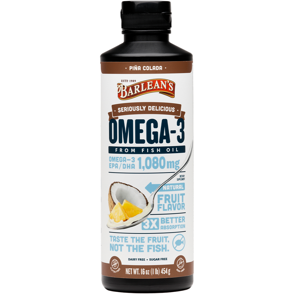 Seriously Delicious™ Omega-3 Fish Oil