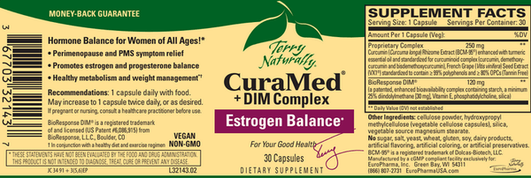 CuraMed® + DIM Complex - 30ct